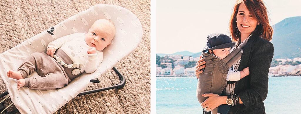 hamaca babybjorn y mochila boba bebes