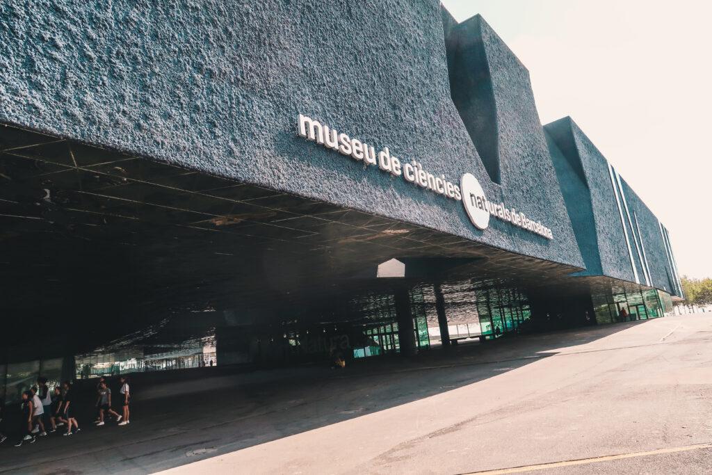 Entrada al Museu Blau