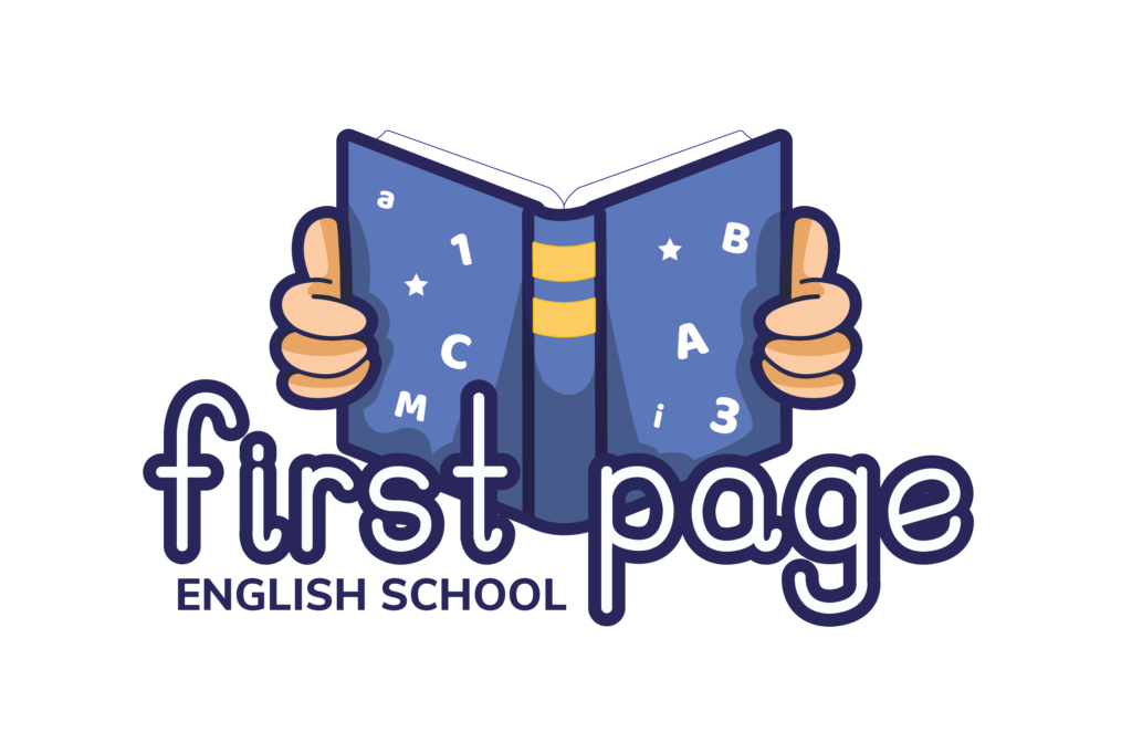 logo first page english school