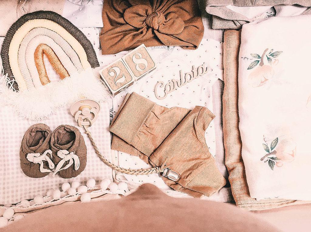 ropa bebé recién nacido para el hospital, primera muda