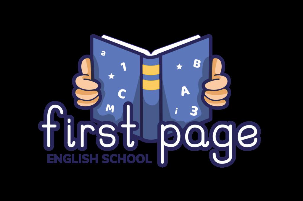 logo first page english school